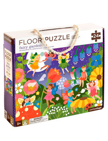Petit Collage Fairy Garden Floor Puzzle, 24 Piece product photo
