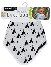 Mum 2 Mum Bamboo Bandana Teepee Bib product photo