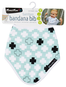 Mum 2 Mum Bamboo Bandana Plus Bib product photo
