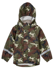 Mum 2 Mum Camo Print Rainwear Jacket product photo