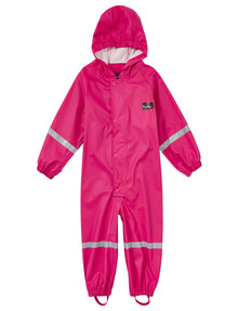 Mum 2 Mum Rainwear All In One, Hot Pink product photo
