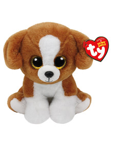 Ty Beanies Beanie Babies Snicky Brown Dog product photo