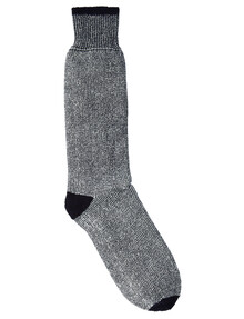 Outdoor Collection Merino Wool Blend Terry Boot Sock, Navy product photo