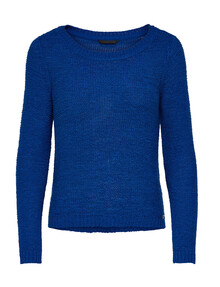 ONLY Geena Open Weave Sweater, Azure, Size XL product photo