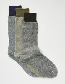 Outdoor Collection Cushioned Work Sock, 3-Pack product photo