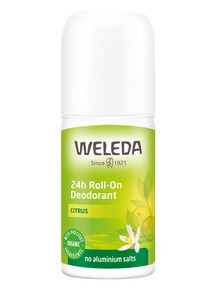 Weleda Citrus 24hr Roll-On Deodorant, 50ml product photo