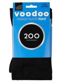 Voodoo Totally Matte 200D Tight Black product photo