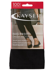 Kayser Dig Free Opaque Legging Black product photo