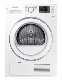 Samsung 8kg Condenser Dryer, White, DV80H4100CW product photo