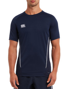 Canterbury Team Dry T-Shirt, Navy product photo