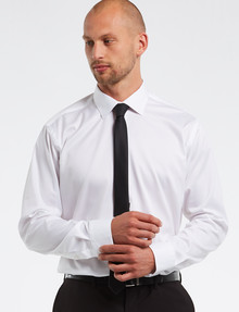 Calvin Klein Long Sleeve White Egyptian Cotton Shirt product photo