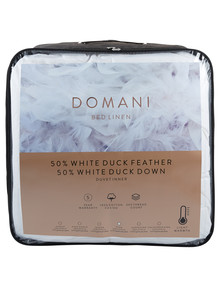 Domani 50/50 Duck Down & Feather Duvet Inner product photo