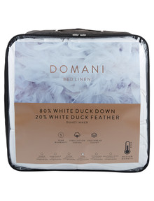Domani 80/20 Duck Down & Feather Duvet Inner product photo