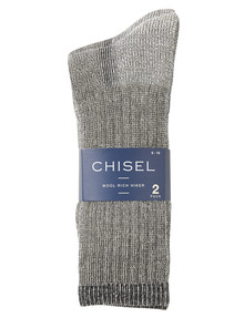 Chisel Hiker Sock, 2-Pack product photo