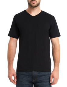 Chisel Ultimate Vee Tee, Black product photo