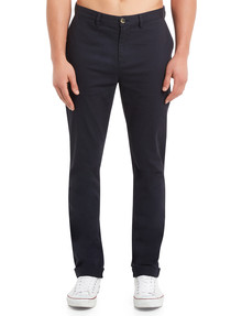 Gasoline Spitalfields Slim Chino Pant, Slate Blue product photo