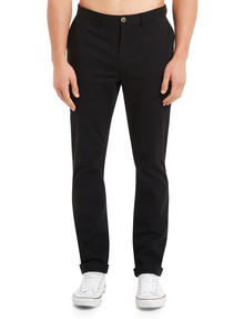 Gasoline Spitalfields Slim Chino Pant, Black product photo
