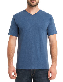 Chisel Ultimate Vee Tee, Blue Marle product photo