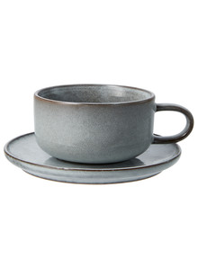 Salt&Pepper Relic Tea Cup & Saucer, 300ml product photo