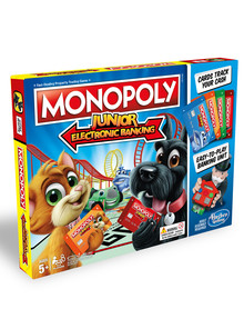Hasbro Games Monopoly Junior Electronic Banking product photo