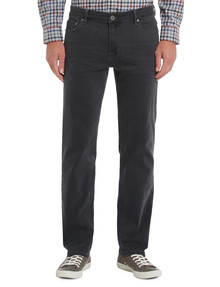 Chisel Extreme Stretch Slim Leg Jean, Charcoal product photo
