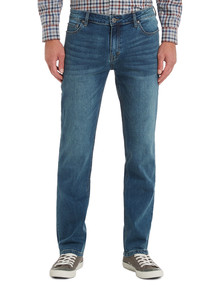 Chisel Extreme Stretch Slim Leg Jean, Stonewash product photo