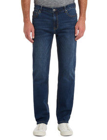 Chisel Extreme Stretch Slim Leg Jean, Indigo product photo