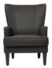Luca Emerson Chair, Charcoal product photo