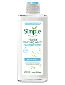 Simple Water Boost Micellar Cleansing Water, 400ml product photo