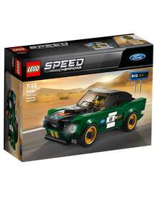 Lego Speed Champions 1968 Ford Mustang Fastback 75884 product photo