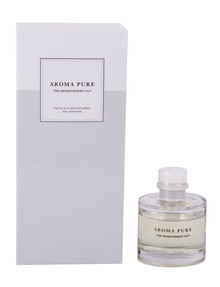 The Aromatherapy Co. Aroma Pure Vanilla and Lotus Flower Diffuser, 40ml product photo