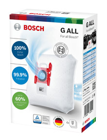 Bosch Power Protect Vacuum Cleaner Bag, BBZ41FGALL product photo