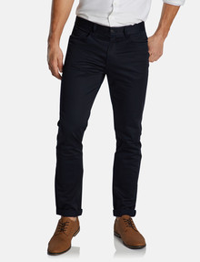 Connor Milton Stretch 5-Pocket Pant, Navy product photo