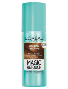 L'Oreal Paris Magic Retouch Temporary Root Concealer Spray, Golden Brown product photo