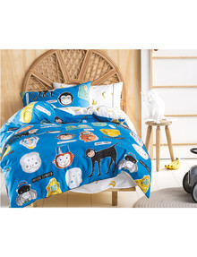 Hiccups Monkey Business Duvet Cover Set product photo