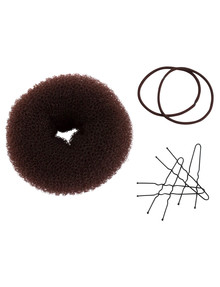 Mae Small Brown Hair Donut product photo