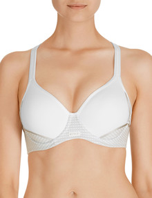 Berlei Electrify Contour Sports Bra, White, B-DD Cup product photo