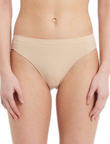 Lyric Seamfree Bikini Brief, Nude product photo