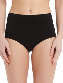Lyric Seamfree Full Brief, Black product photo