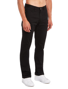 Connor Maxfield 5-Pocket Pant, Black product photo