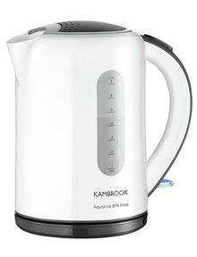 Kambrook Aquarius Kettle, KAK60WHT product photo