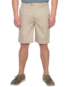 Savane Freedom Flat Front Short, Beige product photo