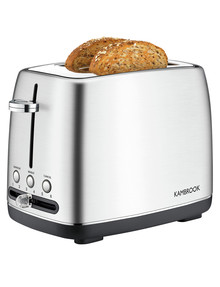 Kambrook Perfect Slice 2-Slice Toaster, KTA270BSS product photo
