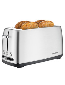 Kambrook Perfect Slice 4 Slice Toaster, KTA470BSS product photo