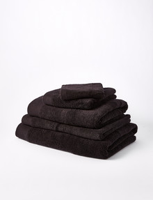 Mondo Obsession Towel Range, Black product photo