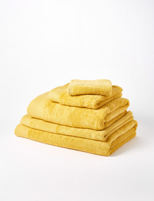 Mondo Obsession Towel Range, Mustard product photo