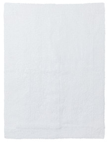 Sheridan Larken Bath Mat, White product photo