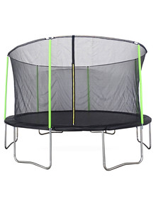 Plum Play 14 Foot Trampoline With Springsafe Enclosure product photo