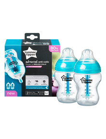 Tommee Tippee Advanced Anti-Colic 260ml Bottle, 2-Pack product photo
