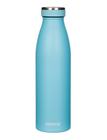 Sistema Hydrate Stainless Steel Bottle, 500ml, Assorted Colours product photo